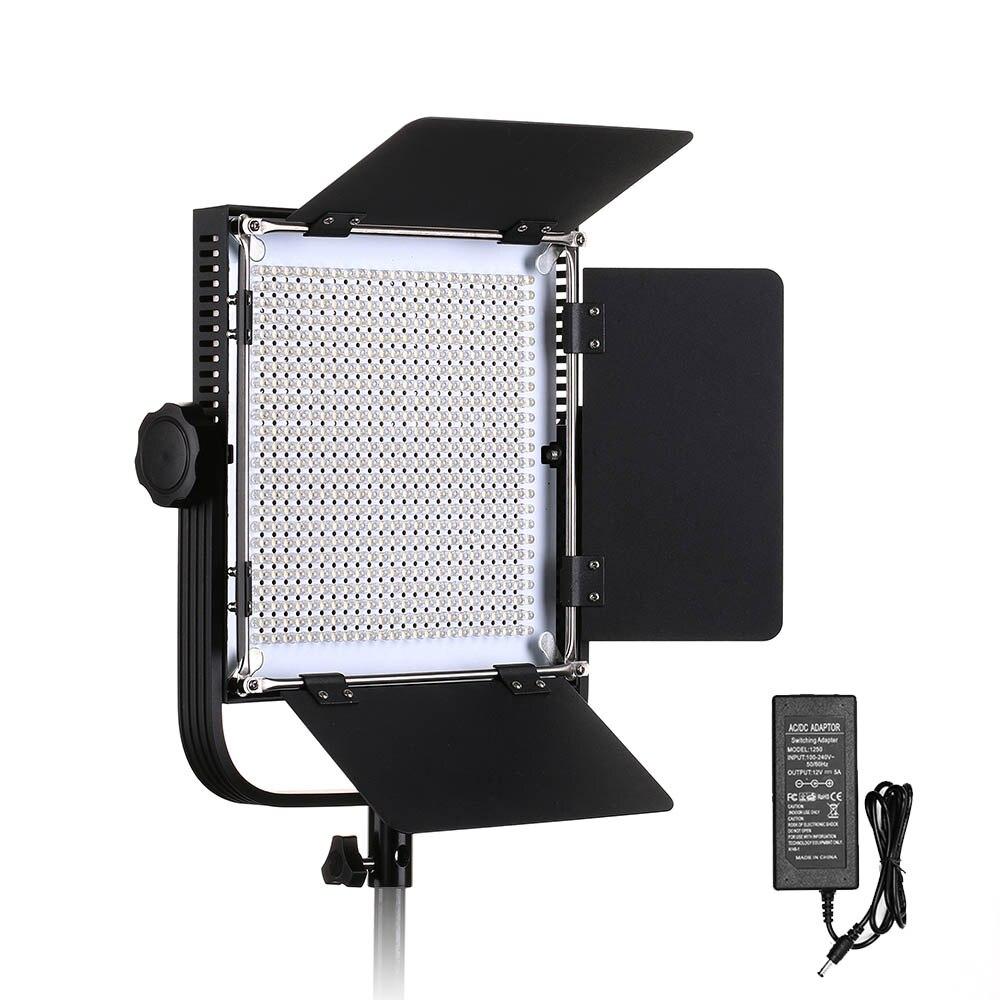 660A Профессиональный светодио дный видео с металлическим каркасом у кронштейн 576 светодио дный бусины для студии YouTube открытый видео фотогра