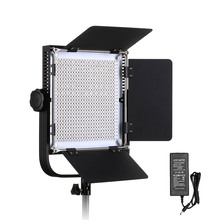 660A Professional LED Video Light with Metal Frame U Bracket 576 LED Beads for Studio YouTube Outdoor Video Photography Lighting neewer bi color led 660 video light and stand kit with battery charger for studio youtube video recording durable metal frame