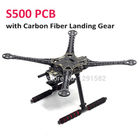S500 PCB Frame Kit 500mm PCB Board with Carbon Fiber/ plastic Landing Gear Upgraded F450 For FPV Quad Gopro Gimbal Quadcopter frame kit kit s500s500 kit -