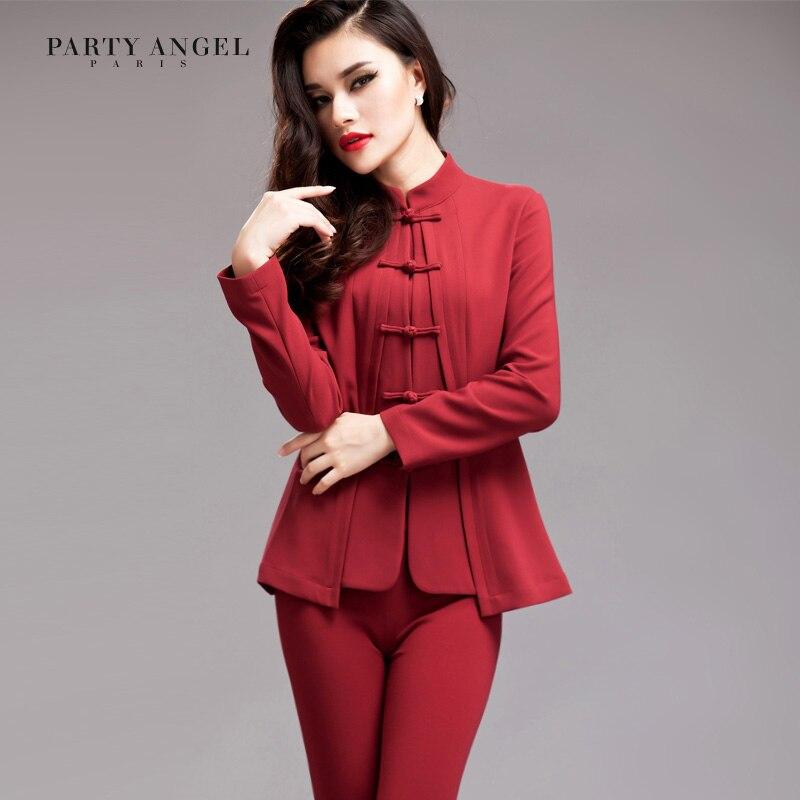 Danse printemps 2014 femme tendance nationale tang costume vêtements style chinois hanfu plaque boutons survêtement cheongsam haut