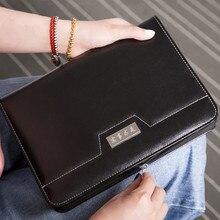Многофункциональный ноутбук на молнии с калькулятором рабочий ноутбук бизнес-ноутбук
