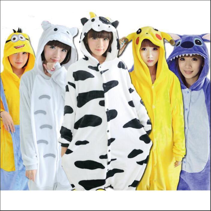 Gato Animal de una pieza pijamas de mujer Lencería pijama de noche ropa de dormir kig Albornoz ropa interior camisón para adultos