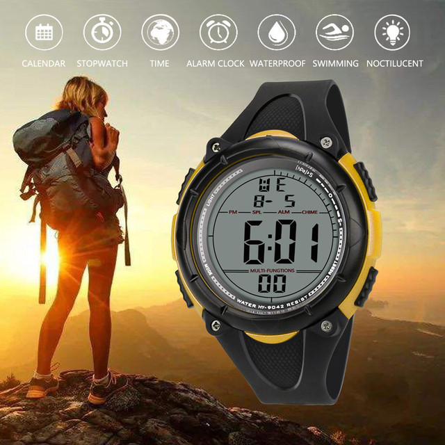 Luxury Brand Mens Sports fitness Watches Dive 50m Digital LED Military Watch Men Fashion Casual Electronics Wristwatches Relojes