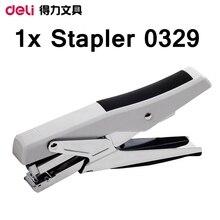 [ReadStar] Deli 0329 ручной степлер плоскогубцы стиль усилия экономия дизайн бумажная емкость 20 штук 80 г ручной бумажный переплет машина