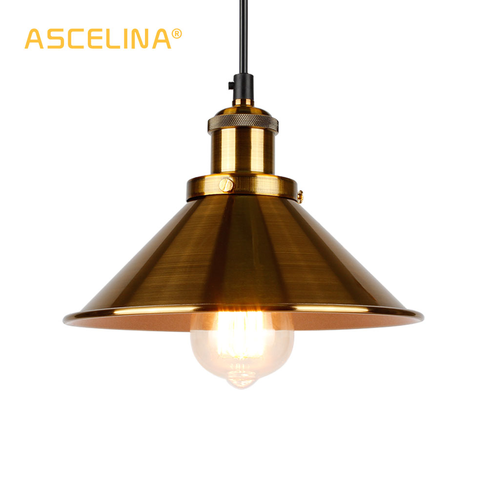 Industrial Pendant Light Vintage Pendant Lamp Hanging Lamp Modern Pendant Ceiling Lamps LED Restaurant Living Room Decoration