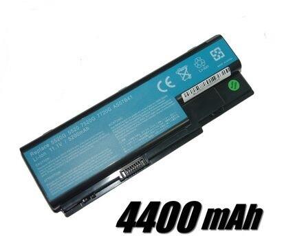 4400 mah batería para acer aspire 6530 6530g 6920 6930 6935 6935g 7220 7230 7330 7520
