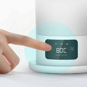 Image 3 - Deerma katlanır elektrikli su ısıtıcısı 0.6L seyahat taşınabilir su ısıtıcısı sıcaklık ekran akıllı dokunmatik kontrol yalıtım Pot