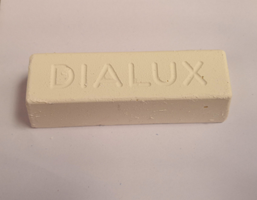 MSA26.561 DIALUX WHITE Polishing wax Available with brush and polishing wheel for all metal finishes