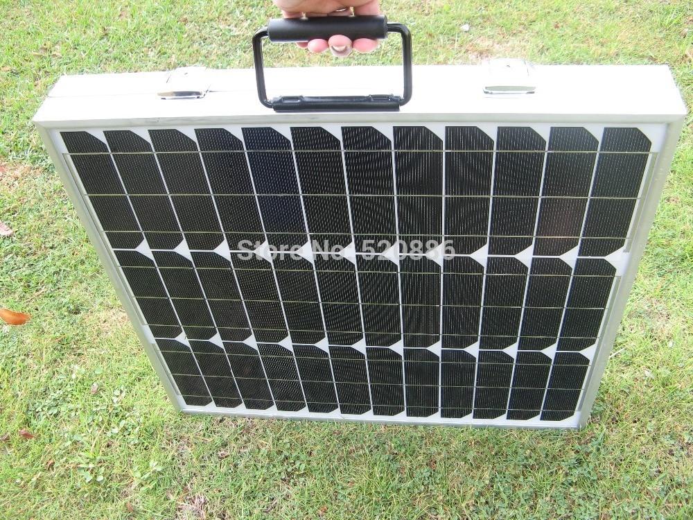 2015 USA Stock 80w 12v Mono Folding Solar Panel for 12v Battery Car RV Camping Boat Home Solar Generators 1kw 10 x 100w 12v solar panel pv solar module for rv boat home battery charge