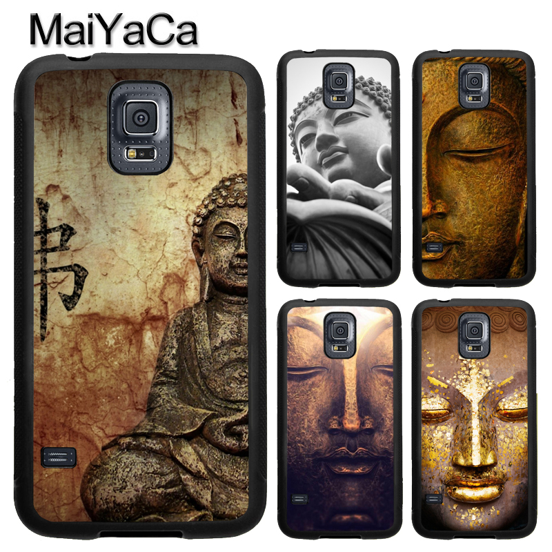 MaiYaCa Buddha Statue Pattern For Samsung S7 S4 S5 S6 edge S9 S8 Plus Note 8 Note 4 Note 5 Phone Case Coque Protector