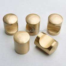 Top Quality 10PCS European Solid Brass Kitchen Cabinet Door Handles Cupboard Dresser Drawer Wine Pulls and Knobs