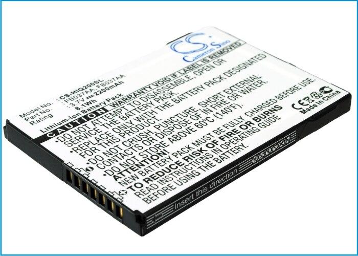 كاميرون سينو بطارية لجهاز HP ايباك 200,210,211,212,214 قدرة عالية