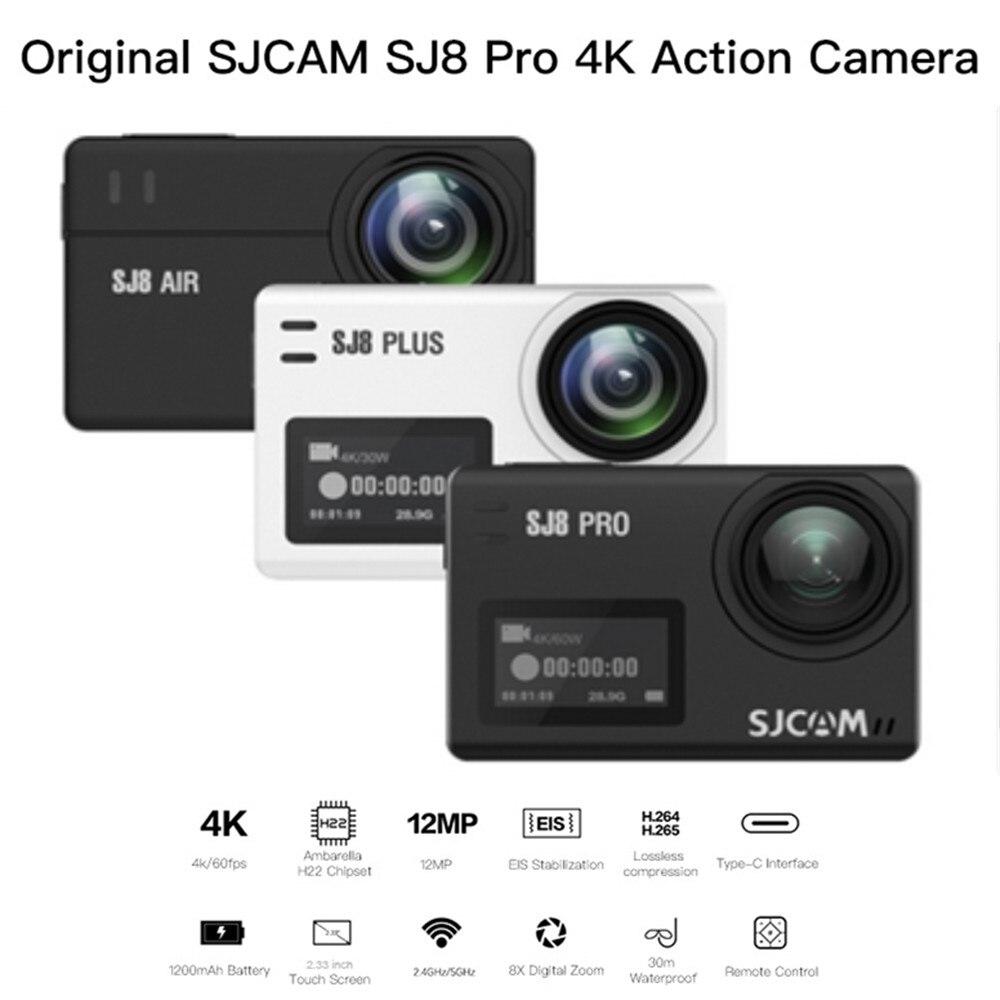 Aus Dem Ausland Importiert Sjcam Sj8 Serie Luft/plus/pro Action Kamera Native 4 Karat 30fps Dual Touch Screen Wifi Wasserdichte Sport Dv Cam Sport & Action-videokameras Unterhaltungselektronik