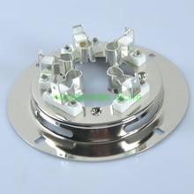 2pcs SUPER 3-1000Z 4-1000A 5868 Ceramic Metal Tube Valve Socket Audio Amplifier