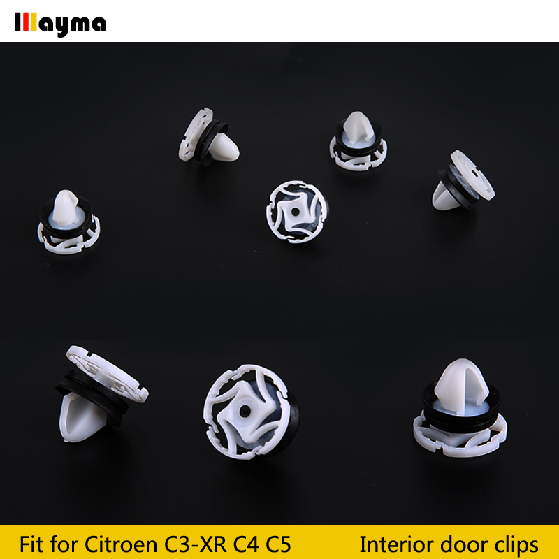 Image 3 - Plastics clips For Citroen C4 DS4 C3 XR C5 Interior Door Panel Card Trim Clips For PEUGEOT 508 3008 Car Accessories 20x 50x 100x-in Auto Fastener & Clip from Automobiles & Motorcycles