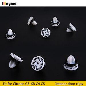Image 3 - Plastics clips For Citroen C4 DS4 C3 XR C5 Interior Door Panel Card Trim Clips For PEUGEOT 508 3008 Car Accessories 20x 50x 100x