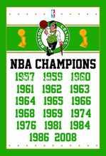 Boston Celtics World Champions Flag 3ft x 5ft Polyester NBA flag