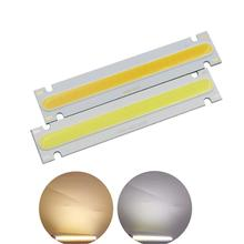 [ALLCOB] DC 6V LED COB Strip 100x20mm module Bar Light Lamp Cold Warm White 5W 500LM FLIP Chip Bulb for DIY work light