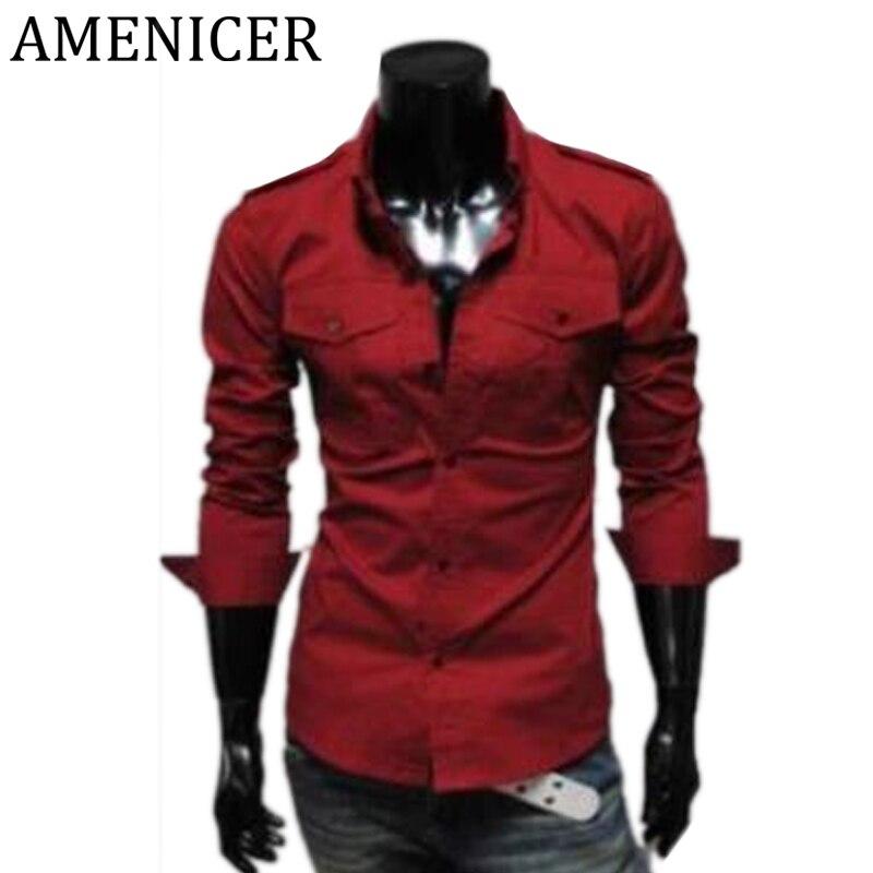 Popular Red Dress Shirt Men-Buy Cheap Red Dress Shirt Men lots ...