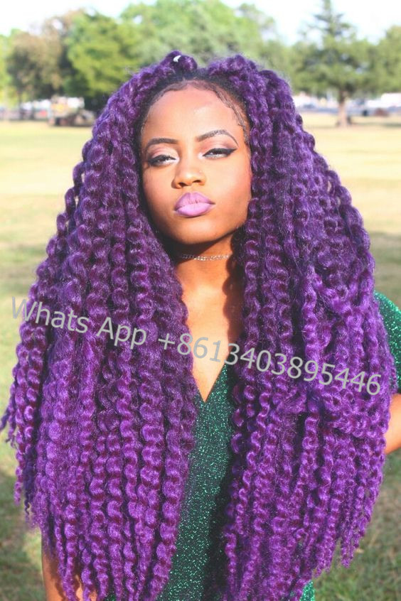 Latch Hook Crochet Braid Hair - Braids