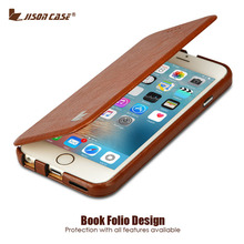 """Jisoncase Flip Phone Case for iPhone 6 Plus 6s PlusCase Luxury PU Leather Fundas Stand Case for iPhone 6 Plus 6s Plus 5.5"""" Cover"""