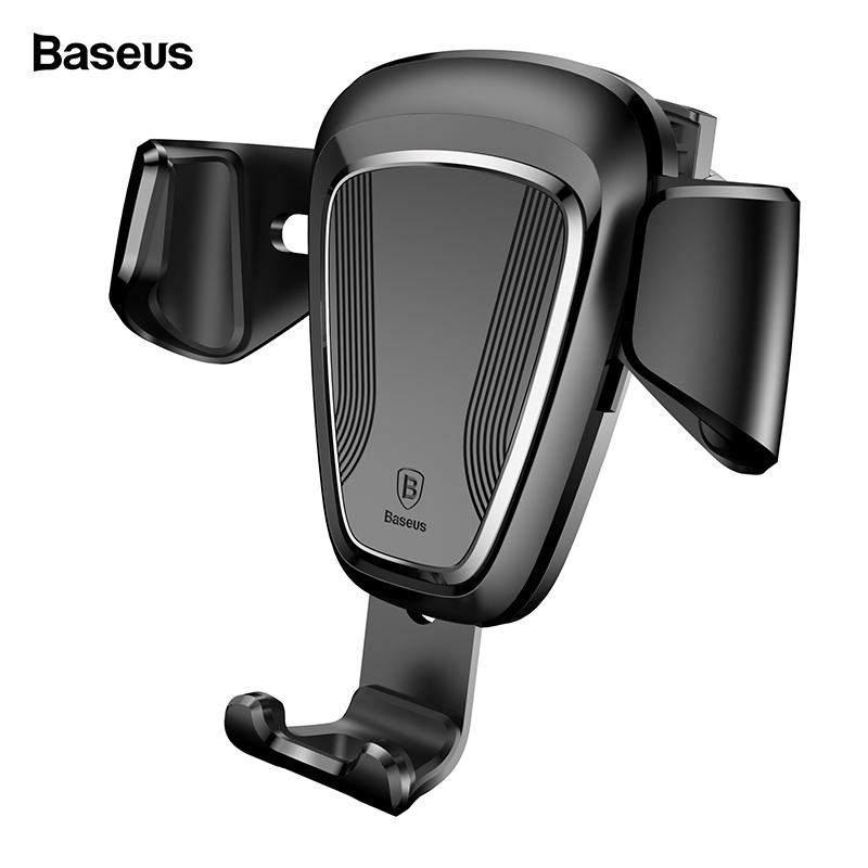 Baseus Gravity Car Phone Holder For iPhone Xs Max X Samsung S10 S9 Air Vent Mount Mobile Phone Holder For Phone In Car Stand