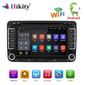 Hikity Android Multimedia player 2 din Car Radio GPS Navigation Autoradio WIFI DVD For Volkswagen//Passat/POLO/GOLF/Skoda Ster - DISCOUNT ITEM  5% OFF All Category