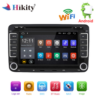 Hikity Android Multimedia player 2 din Car Radio GPS Navigation Autoradio WIFI DVD For Volkswagen//Passat/POLO/GOLF/Skoda Ster