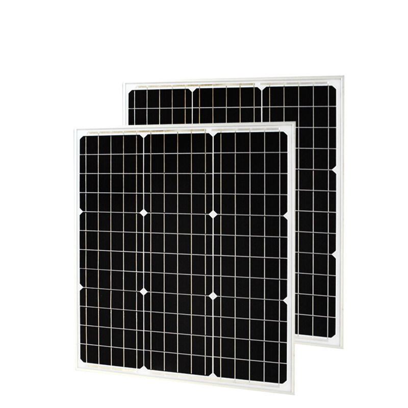 BOGUANG 2pcs 50W Monocrystalline Solar Module by Mono solar cell factory cheap selling 18V 12V glass solar panel PV photovoltaic