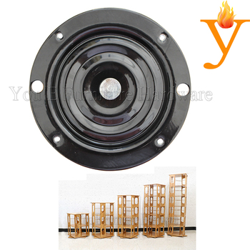 6 inches  circle Metal Swivel Plate KYF001 circle