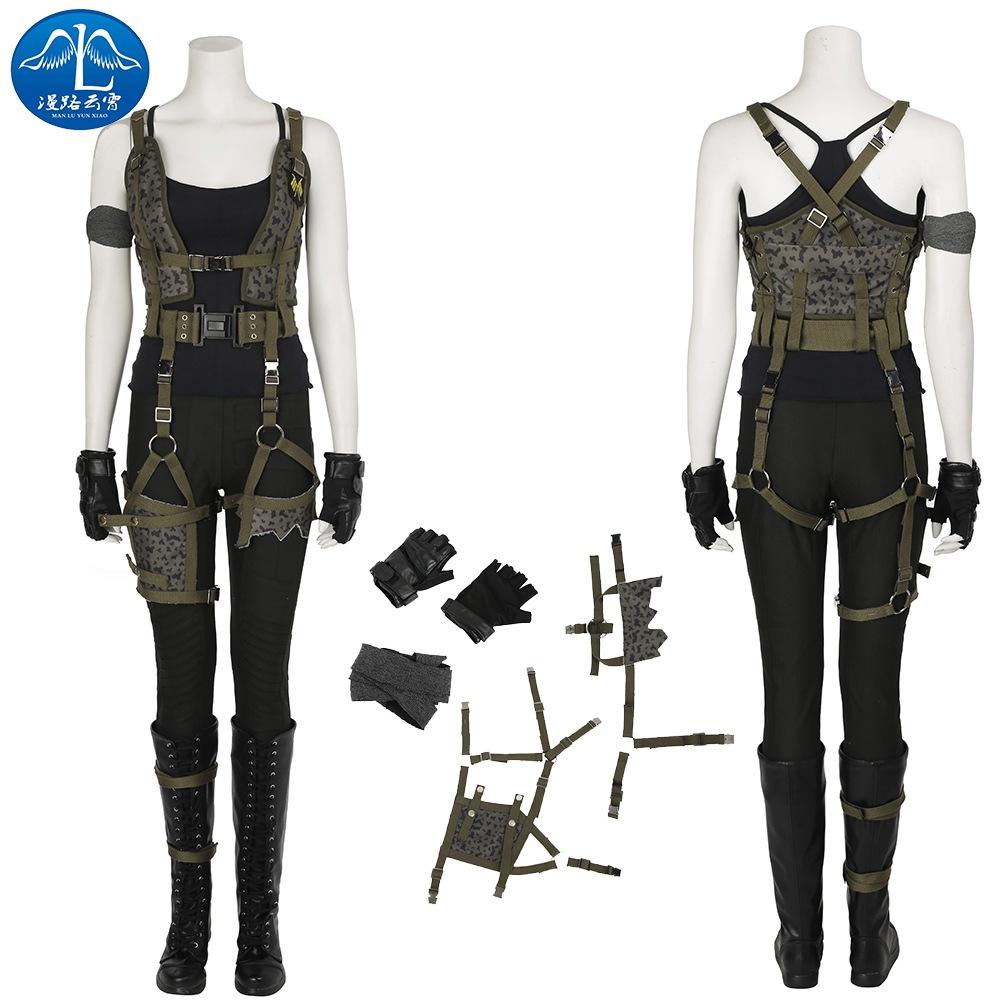 ManLuYunXiao 2017 Cosplay Costume Alice Costume Resident Evil Rising Cosplay Costume For Halloween Women's Full Suit Cosplay