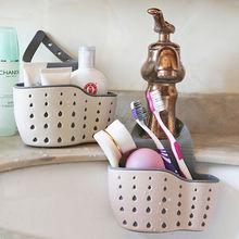 Sink-Shelf Drain-Rack Kitchen 3-Colors Storage-Tool Sucker Sponge Suction-Cup Soap Useful