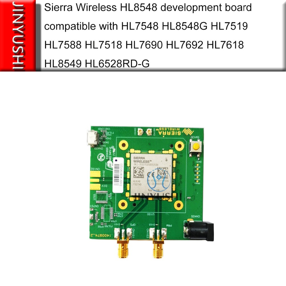 JINYUSHI Sierra wireless HL8548 entwicklung bord GSM GPRS WCDMA HSPA + 3G modul HSPA B1, B2, b5, B6, B8, B19