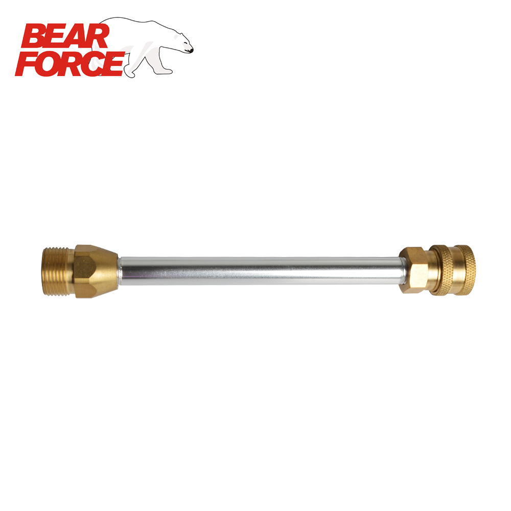 High Pressure Washer Lance Wand With M22 Male Connector And 1/4 Quick Release Connector Socket Female