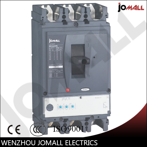 400A 3P NSX new type mccb Moulded Case Circuit breaker 400a 4p 220v ns moulded case circuit breaker