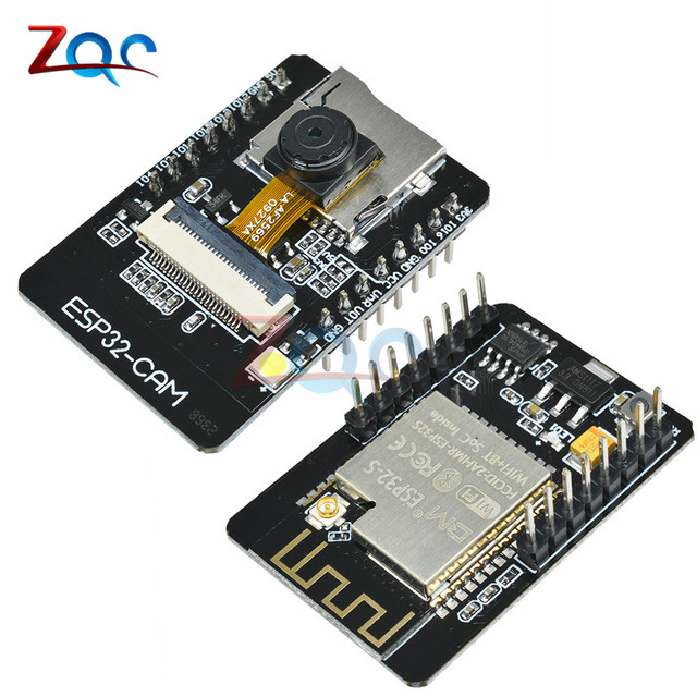 US $6 75 25% OFF|ESP32 CAM WiFi Module ESP32 S serial WiFi ESP32 CAM  Development Board 5V Bluetooth with OV2640 Camera Module 32 bit CPU  240MHz-in