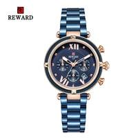 Recompensa marca superior moda feminina relógios de quartzo à prova dcasual água casual senhoras vestido feminino relógio para mulher relogio feminino|Relógios femininos| |  -