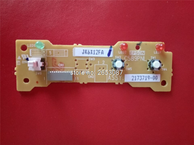 original new control panel keyboard chip board PCB for EPSON 1410 R1400 1400 R1390 1390 printer pcb card assembly