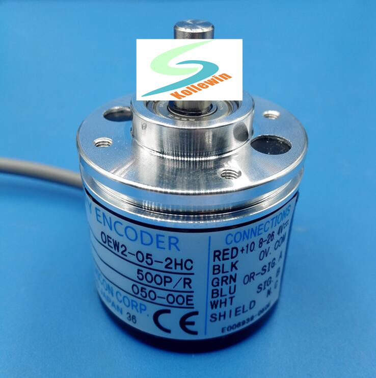 OEW2-05-2HC within the control of the rotary encoder shaft diameter 6mm 500 cable outer diameter of 38mm Free Shipping. new original nemicon within the control of an incremental encoder pulse 360p ovw2 036 2mht
