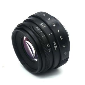 Image 5 - Fujian 35mm f1.6 c 마운트 카메라 cctv 렌즈 ii + c 마운트 어댑터 링 + 매크로 캐논 eos m EF M 미러리스