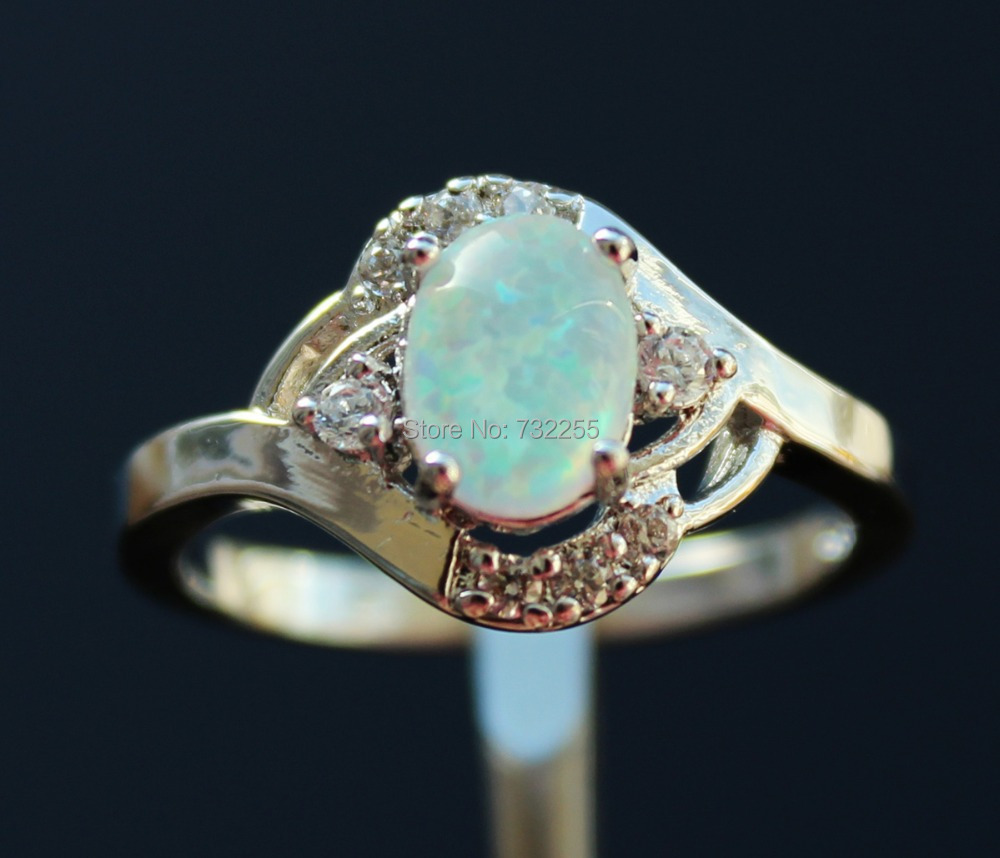 blue opal engagement ring blue opal wedding rings Back to Cute Opal Engagement Rings