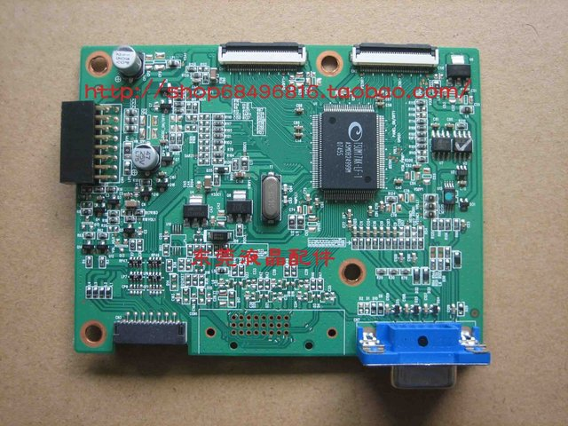 Free shipping  AL1916W driven plate  driver board (A190A2 - how A02 - H - S1) with chimei panel of 36 stitches