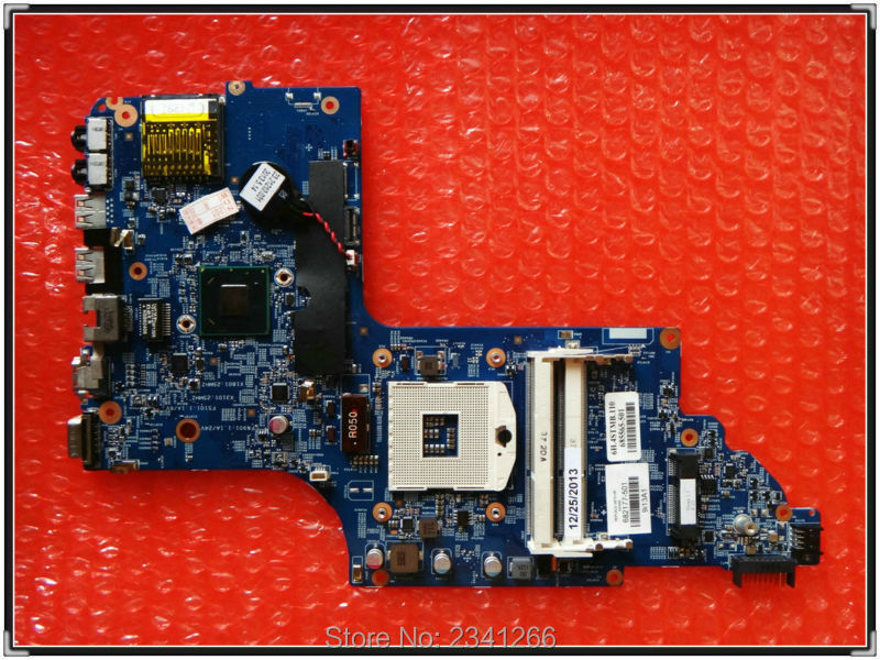 48.4ST04.021 682177-001 682177-501 for HP PAVILION DV6T-7000 NOTEBOOK DV6 DV6-7000 laptop mothboard HD4000 15.6 'DDR3 tested