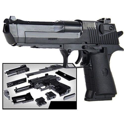Детские игрушки, строительные блоки, модель пистолета, сборка пистолета, Desert Eagle, 1:10|Блочные конструкторы|   | АлиЭкспресс