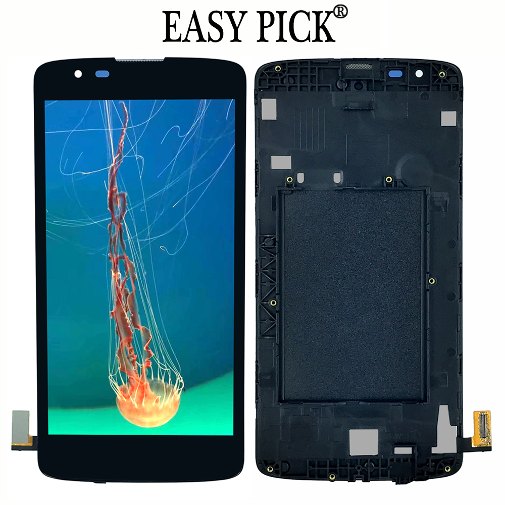 For LG K8 LTE 4G K350N K350E K350DS K350AR AS375 LCD Display Touch Screen Digitizer AssemblyFor LG K8 LTE 4G K350N K350E K350DS K350AR AS375 LCD Display Touch Screen Digitizer Assembly