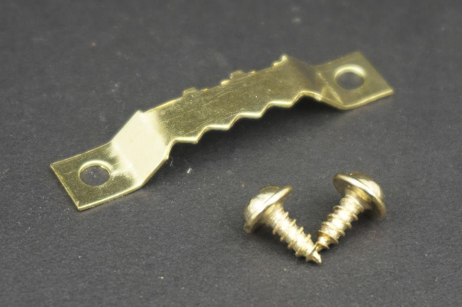 100pcslot Saw Tooth Hanging Bracket Clock Picture Frame Hook