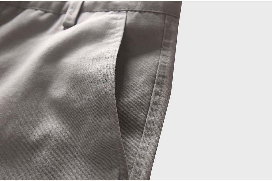 Zecmos Slim Straight Men Casual Pants Man Autumn Winter New Fashion Plus Size Pocket Trousers 13
