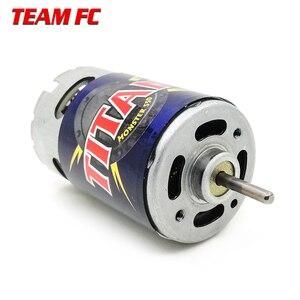 Image 2 - Motor Titan de 21 vueltas, 3975 21T, 550 voltios, refrigerado por ventilador hacia adelante y hacia atrás para camión monstruo e revo e maxx 14,4, F128 para TRX4 S245, 1/10