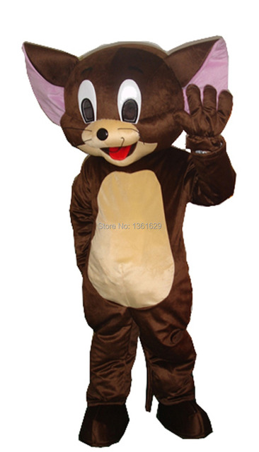 Good Quality EPE Light Weight Brown Mouse Jerry Mascot Costume Cartoon Character Costumes Adult Size Free  sc 1 st  AliExpress.com & Good Quality EPE Light Weight Brown Mouse Jerry Mascot Costume ...