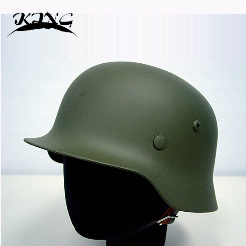 German MOD M35 Helmet Luftwaffe Steel Helmet OD Tactical Helmet Airsoft Helmet fire maple sw28888 outdoor tactical motorcycling wild game abs helmet khaki